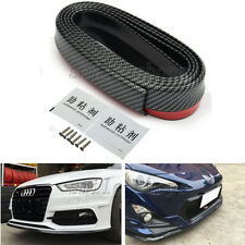 Front Bumper Lip Splitter Body Spoiler for Audi A3 A4 A6 A8 TT Carbon Fiber Look