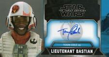 Star Wars The Force Awakens Widevision 3D Autograph Tosin Cole as Lt. Bastian