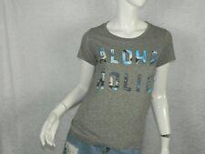 Sol Angeles Anthropologie T-Shirt Gray Aloha Holic Shirt