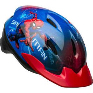 Spidey Spider Man Bell Bike Helmet Child Kids Toddler Safety Girls Boys 5-8 Age