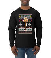 Fragile Leg Lamp Christmas Story Funny Xmas | MEN Long Sleeve Shirt