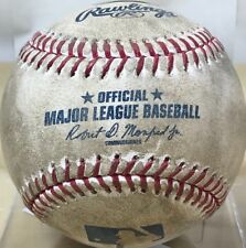 RYON HEALY 16th CAREER HOME-RUN GAME-USED *MLB HOLO* BASEBALL MARINERS A's 2017