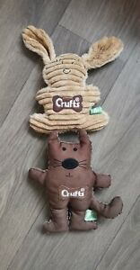 Crufts Dog Toys X2