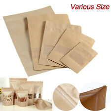 Kraft Paper Craft Cookie Candy Package Seeds Sweet Bean Bags Party Bags Supply
