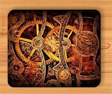 GEARS CLOCK STEAMPUNK Customize MOUSE PAD HIGHT QUALITY FAST SHIPPING NEW
