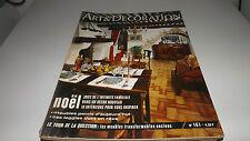 ART ET DECORATION [No 161] du 01/12/1971 - NOEL - JOIE DE L'INTIMITE FAMILIALE -