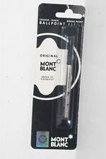 100% ORIGINAL MONT BLANC Ballpoint Refills Medium Point Black Ink #15152 1PK