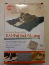K&H Heated Pet Bed Warmer Dog Cat Electric Heating Pad Indoor Heater Mat Small