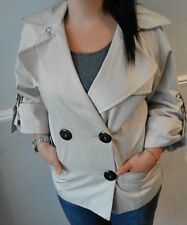 ☆ZARA|NUDE TRENCH STYLE COAT|SIZE M|ON TREND|L@@K!☆