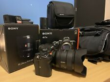 Sony a7 III 24.2 MP Mirrorless Digital Camera With Sony FE 24mm F1.4 GM.