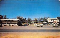 Nashville Tennessee 1950s Postcard Sherry Courts Motel & Restaurant