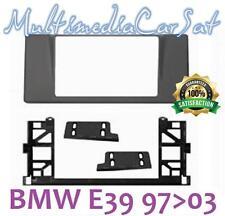 Mascherina Autoradio 2 Doppio Din BMW S5 E39 Senza Navi Cornice Montaggio 3568