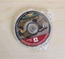 SOCOM US Navy Seals Fireteam Bravo 2 Sony Playstation PSP Video Game Disc Only