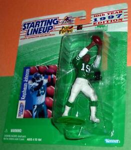1997 KEYSHAWN JOHNSON 19 Rookie New York Jets NM/MINT *FREE_s/h* Starting Lineup