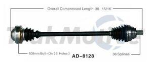 TrakMotive AD-8128 CV Axle Shaft For 05-14 Audi Volkswagen A3 Eos Golf GTI Jetta