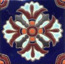 Gorgeous Hand-Painted Art Deco Craftsman Tile ~ Pools, Stairs, Hearth and More!
