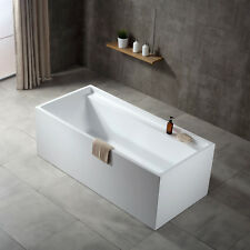 "Baignoire autoportante en acrylique ""VERONA""  blanc 170x80x60cm"