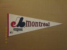 MLB Montreal Expos Vintage Defunct Circa 1980's Style#2 Logo Baseball Pennant
