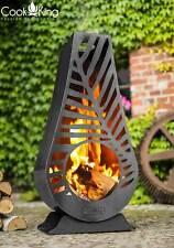 Gartenofen Gartenkamin Terrassenofen Kaminofen Feuerstelle HANDARBEIT Holz