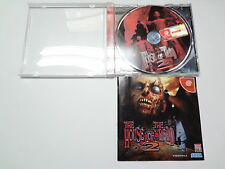 The House of The Dead 2 no spine Sega Dreamcast Japan
