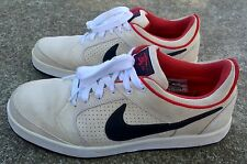 Nike SB Zoom Paul Rodriguez 4 White/Black/Red Mens Size 8 Skateboarding P-Rod