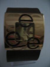 Armbanduhren aus Kunstleder mit 12-Stunden-Zifferblatt für Erwachsene auf Quadrat