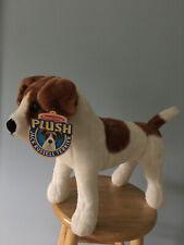 Plush Jack Russell Terrier Dog Melissa & Doug Stuffed Animal Brown And White