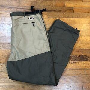 Drake Jean Cut Wader Fleece-Lined Olive/Tan Pants Men's Size 2XL (DW1590-OLT-5)