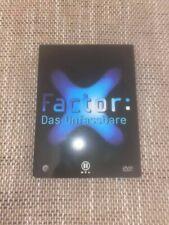 X-Factor: Das Unfassbare - DVD / Zustand Gut