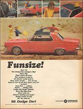 1965 Classic Car AD '65 Dodge Dart at the Beach..automobile 092616)
