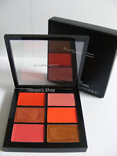 Mac Pro Lip Palette 6 Editorial Oranges Sandy B , Morange, Crosswires & More