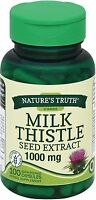 Nature's Truth Milk Thistle Seed Extract 1000 mg Capsules 100 ea