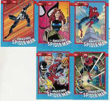 1992 IMPEL MARVEL THE AMAZING SPIDER-MAN COMPLETE PROMO SET 1-5