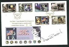 2009 40th Anniversary Man on the Moon FDC - Douglas Pmk - Signed by Alan Bean