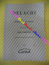 spartito DELACHI Raccolta di bassi per lo studio dell'armonia no cd lp mc dvd