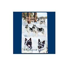 Roller Ink Pen Dog Breed Ruth Maystead Fine Line - Norwegian Elkhound