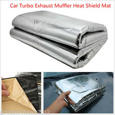 1*1.4m Car Turbo Exhaust Muffler Insulation Heat Shield Mat Cover Protector Pad