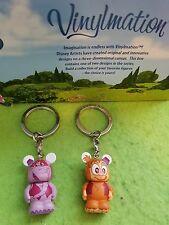 """Disney Vinylmation 1.5"""" Park Set 10 Junior Jr Aladdin Lot Abu Elephant Monkey"""