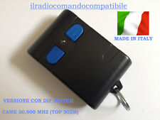 RADIOCOMANDO COMPATIBILE CAME BICANALE 30,900 TOP 302A 302M CON DIP SWITCH 10