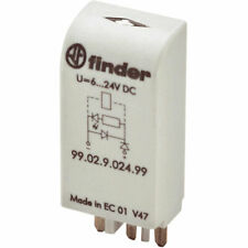 Finder 99.02.9.024.99 Coil Indication And EMC Suppression Module 6-24VDC