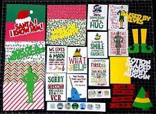 Buddy The Elf Scrapbook Kit- Scrapbook paper -Christmas ELF movie. Project Life