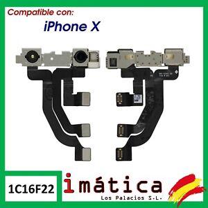 FLEX CAMARA PARA APPLE IPHONE X 10 FRONTAL DELANTERA SENSOR PROXIMIDAD CABLE