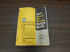 GMC SCHOOL BUS CHASSIS PARTS MANUAL BOOK 518