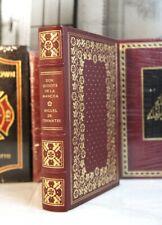 DON QUIXOTE - Franklin Library - Cervantes - SCARCE