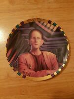 Star Trek Deep Space Nine Security Chief Odo Limited Edition Licensed Plate!