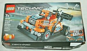 LEGO no. 42104 Technic RACE TRUCK Toy NASCAR Style~Retired Product~in Sealed Box