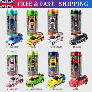 Mini Coke Can Car Speed RC Radio Remote Control Micro Racing Car Kids Toys Gift✅