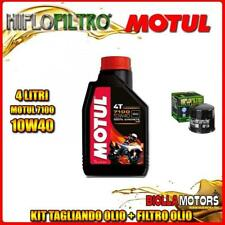 KIT TAGLIANDO 4LT OLIO MOTUL 7100 10W40 SUZUKI DL650 A V-Strom Traveller 650CC 2