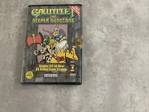 Gauntlet The Deeper Dungeons - U.S. Gold / Atari Games - Amstrad CPC Disk game