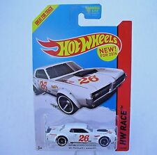 2014 Hot Wheels TRACK ACES 170/250 White '68 MERCURY COUGAR New SEALED Package!